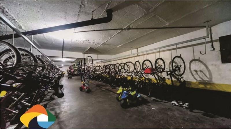 Parque das Árvores Bicicletário 1