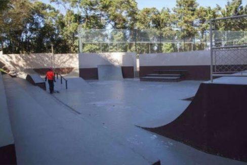 Pista de Skate.